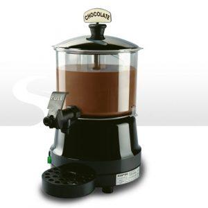 Příprava horké čokolády